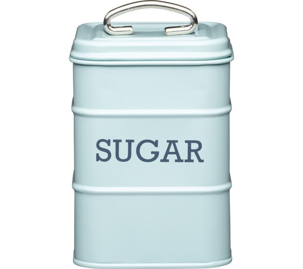 KITCHEN CRAFT Living Nostalgia Vintage Sugar Tin - Blue