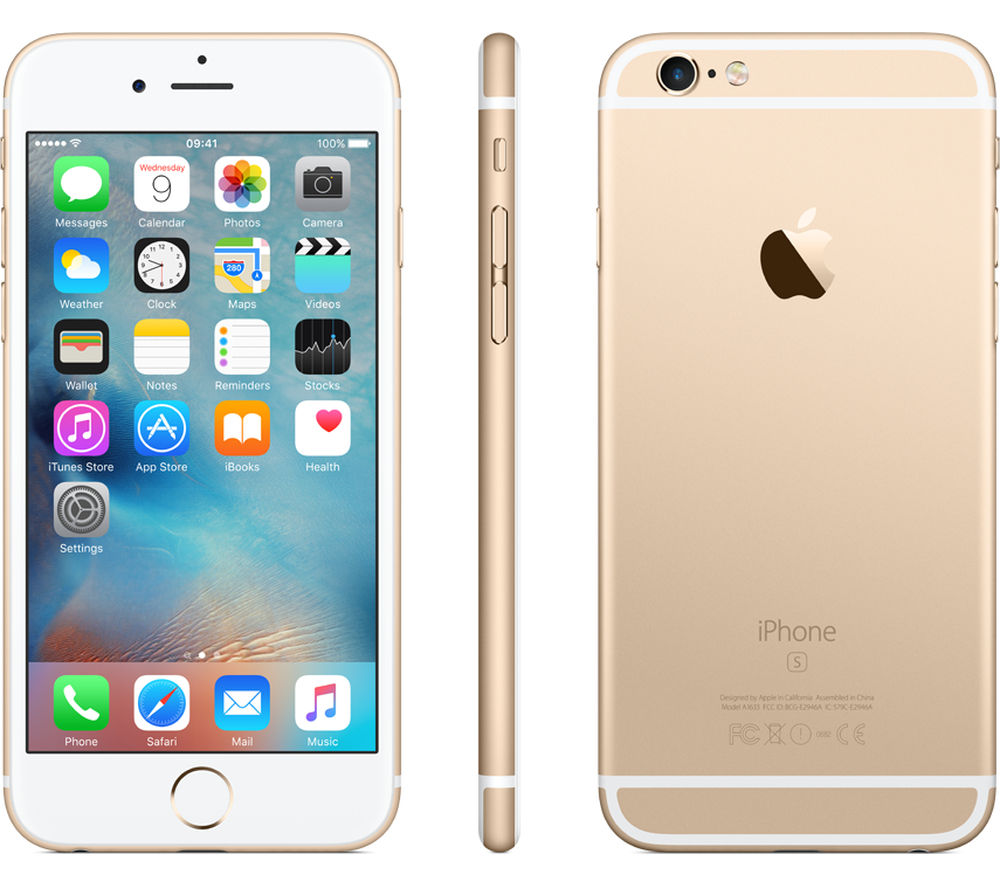 APPLE iPhone 6s - 128 GB, Gold