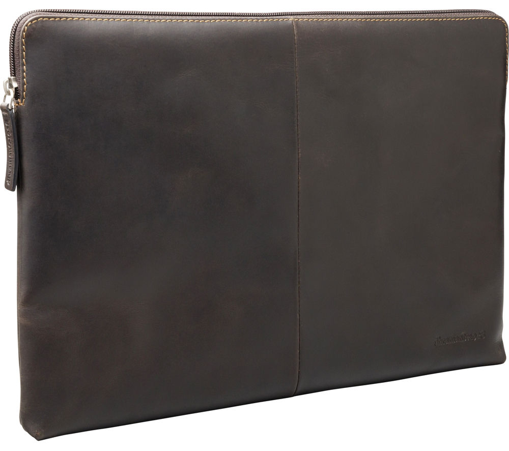 "DBRAMANTE 1928 Skagen 13"" MacBook Leather Sleeve - Hunter Dark Brown"