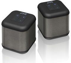 JVC SP-AT3-B Portable Wireless Speakers - Black