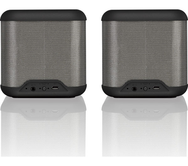 Image of JVC SP-AT3-B Portable Wireless Speakers - Black