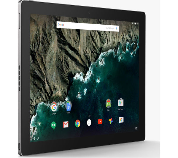 "Image of GOOGLE Pixel C 10.2"" Tablet - 32 GB, Silver"
