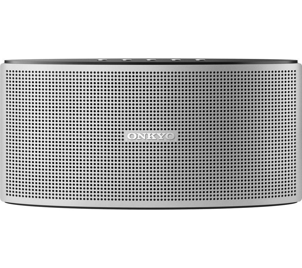 ONKYO X3 Portable Bluetooth Wireless Speaker - Silver