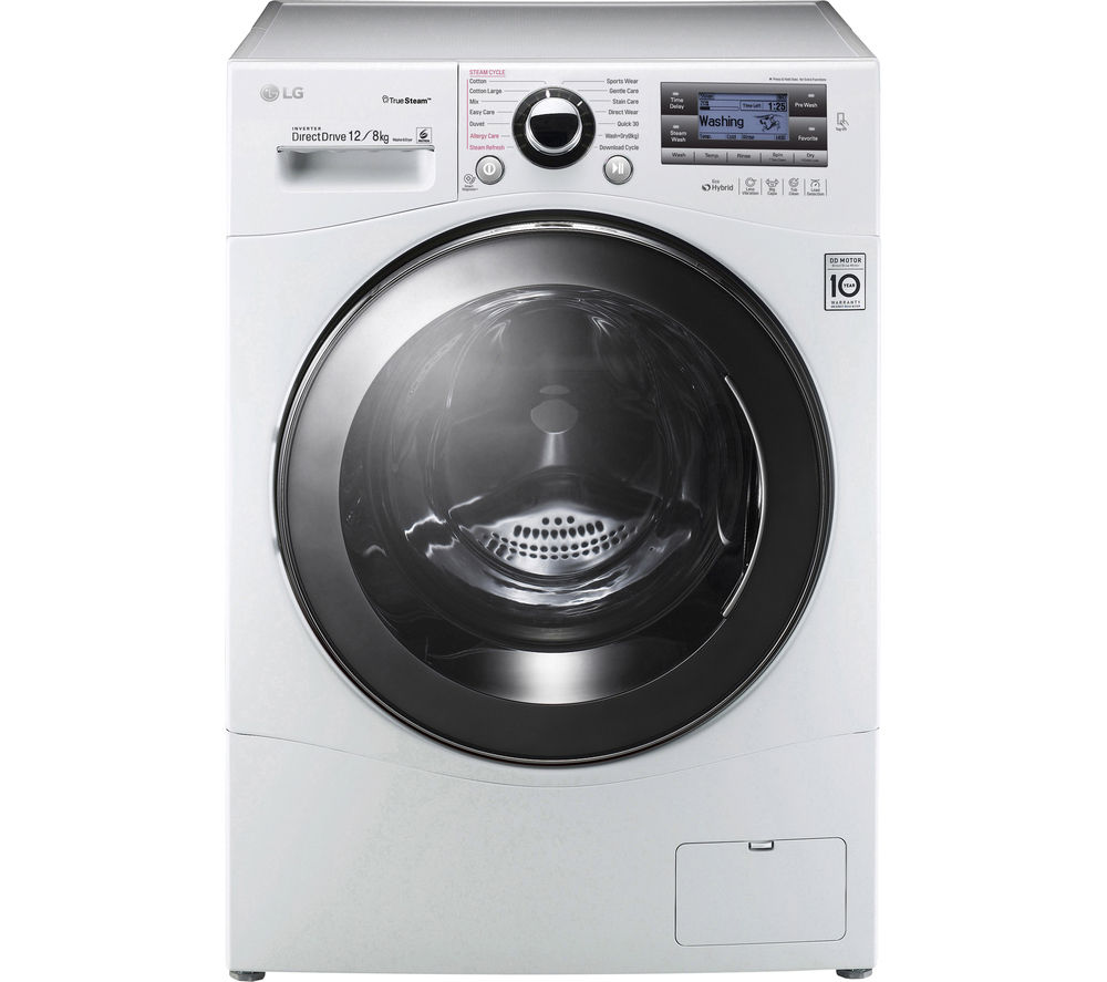 buy lg fh695bdh2n washer dryer white free delivery currys. Black Bedroom Furniture Sets. Home Design Ideas