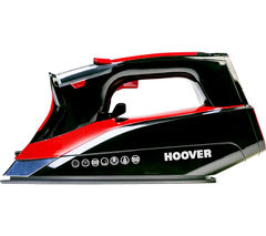 HOOVER IronJet TID2500C Steam Iron - Titanium & Red