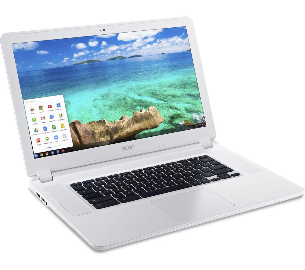 Acer ACER  CB5571 15.6 Chromebook  White White