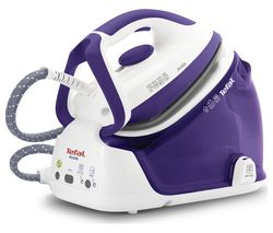 TEFAL Actis GV6340 Steam Generator Iron - Purple & White