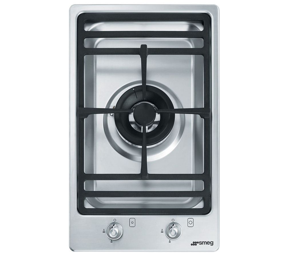 SMEG PGF31G-1 Domino Gas Hob - Stainless Steel