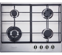 BAUMATIC BHG625SS Gas Hob - Stainless Steel