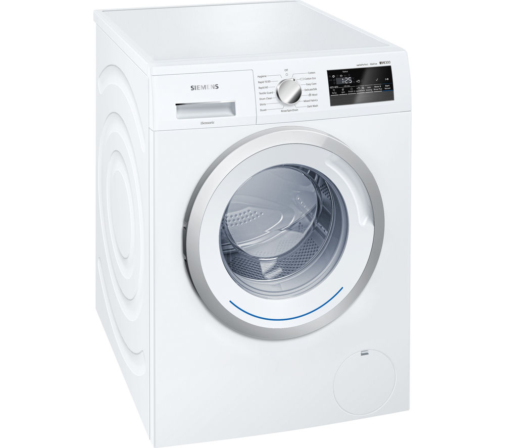 SIEMENS iQ300 WM14N200GB Washing Machine - White