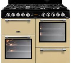 LEISURE Cookmaster CK100G232C 100 cm Dual Fuel Range Cooker - Cream & Chrome