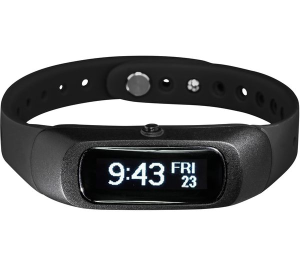 Buy GOJI GO Activity Tracker - Black, Small | Free Delivery | Currys