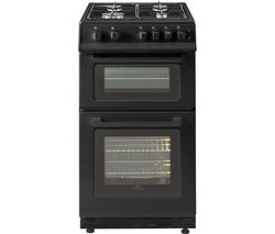 NEW WORLD 50GTC 50 cm Gas Cooker - Black