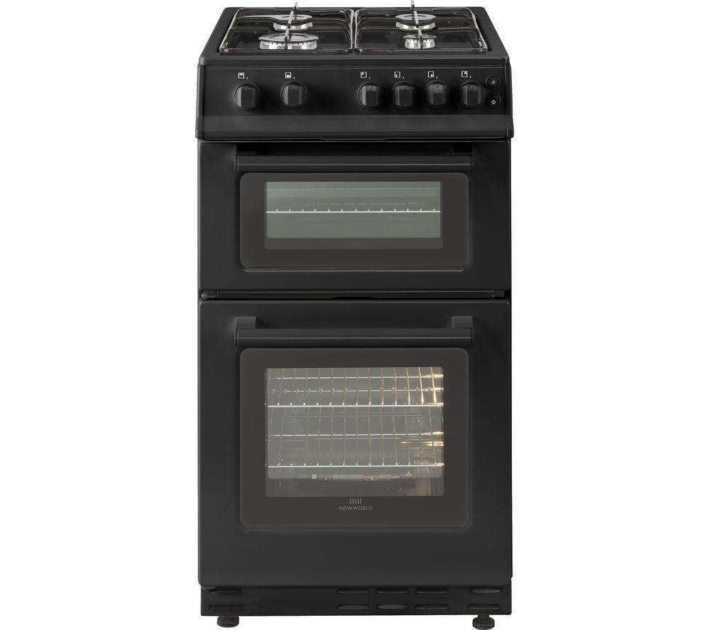 NEW WORLD 50GTC 50 cm Gas Cooker - Black