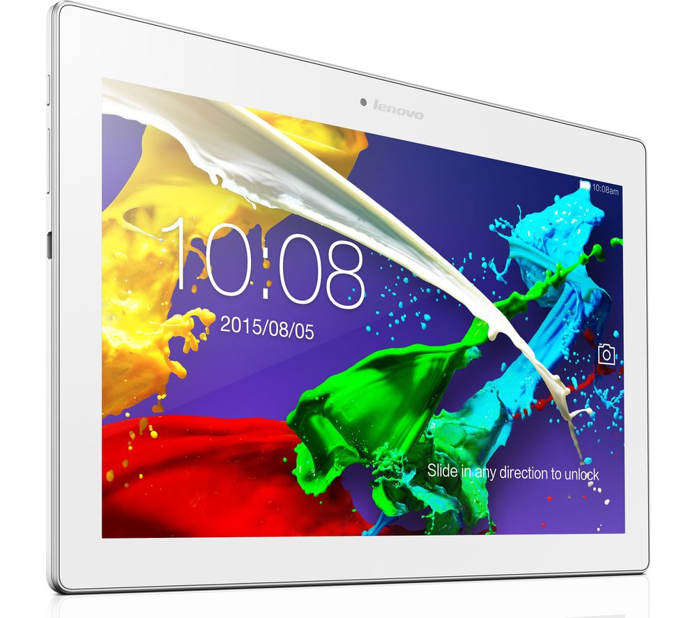 """LENOVO Tab 2 10"""" Tablet - 16 GB, White"""