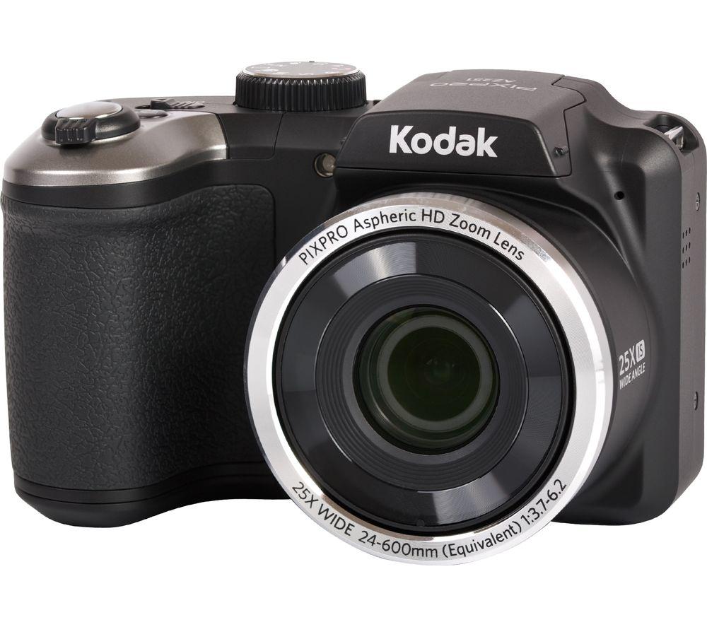 Image of KODAK PIXPRO AZ251 Bridge Camera - Black, Black