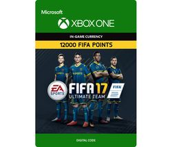 MICROSOFT FIFA 17 Ultimate Team - 12000 FIFA Points