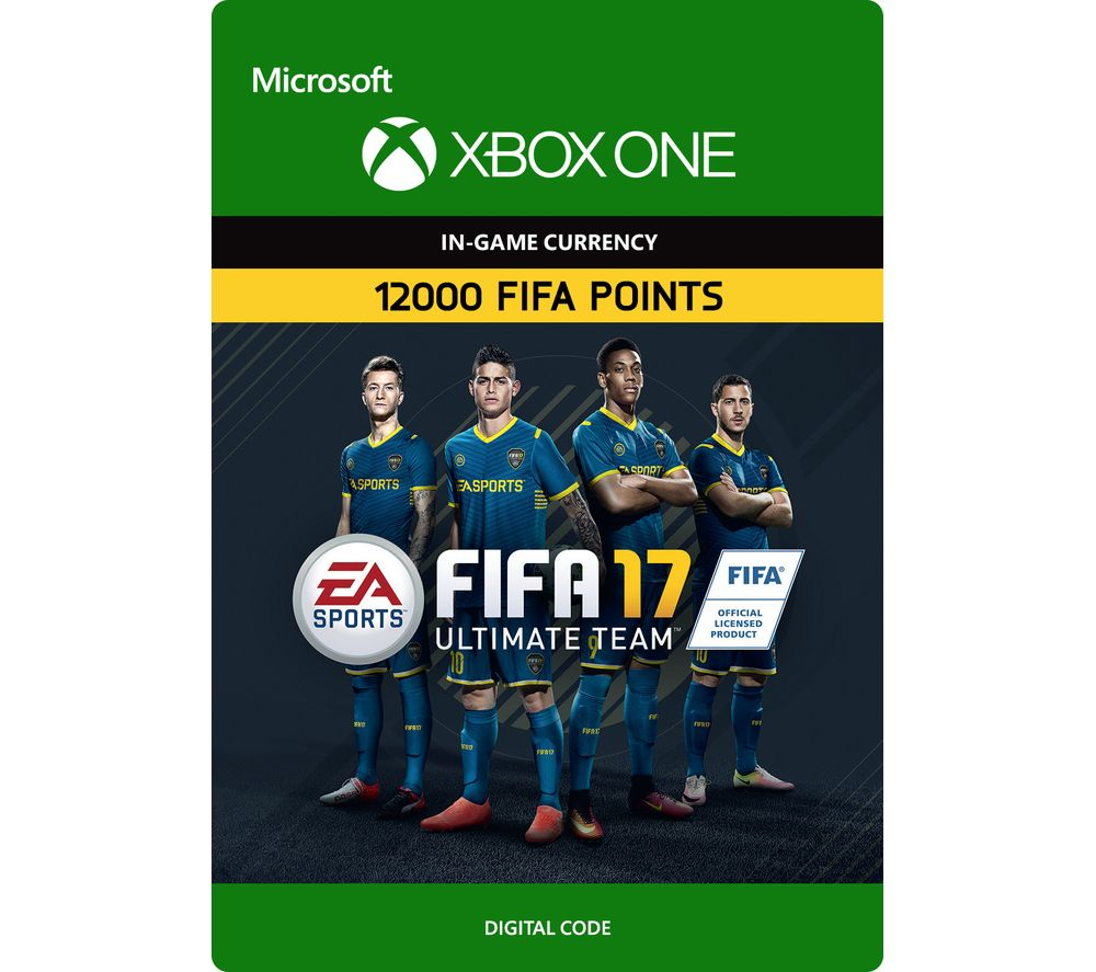 MICROSOFT FIFA 17 Ultimate Team - 12000 FIFA Points
