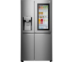 LG GSX961NSAZ American-Style Fridge Freezer - Shine Steel