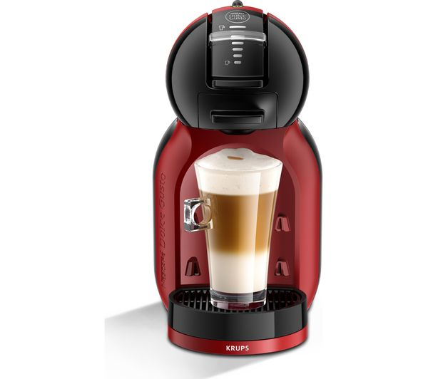 buy dolce gusto by krups mini me kp120bun hot drinks machine starter pack red free delivery. Black Bedroom Furniture Sets. Home Design Ideas