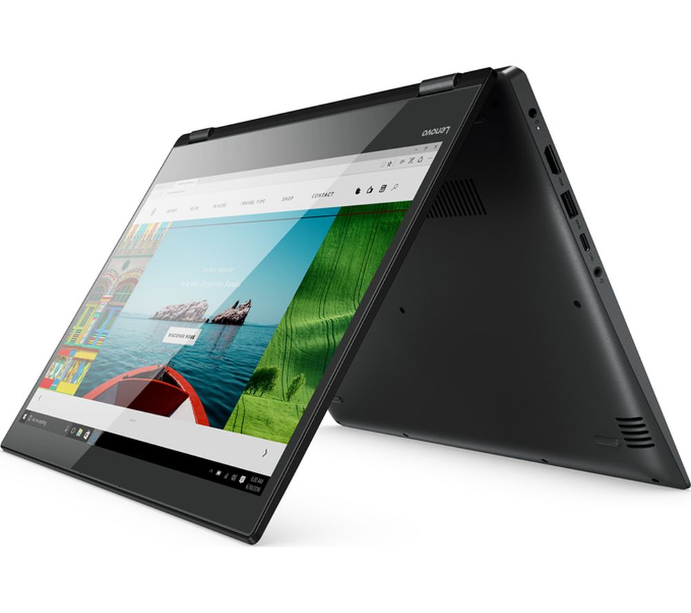 "LENOVO Yoga 520-14IKB 14"" Touchscreen 2 in 1 - Onyx Black + Office 365 Personal"