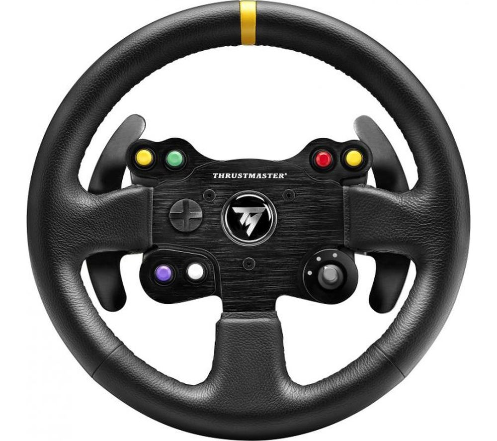 THRUSTMASTER TM Leather 28GT Wheel - Black