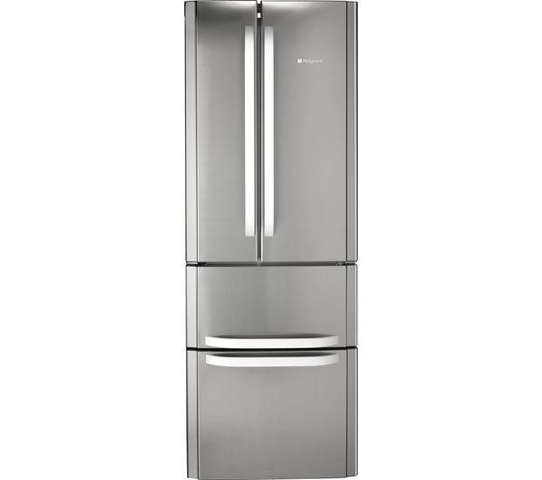 Buy HOTPOINT FFU4DX Fridge Freezer - Stainless Steel : Free Delivery ...