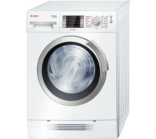 Bosch Logixx WVH28421GB Washer Dryer - White, White