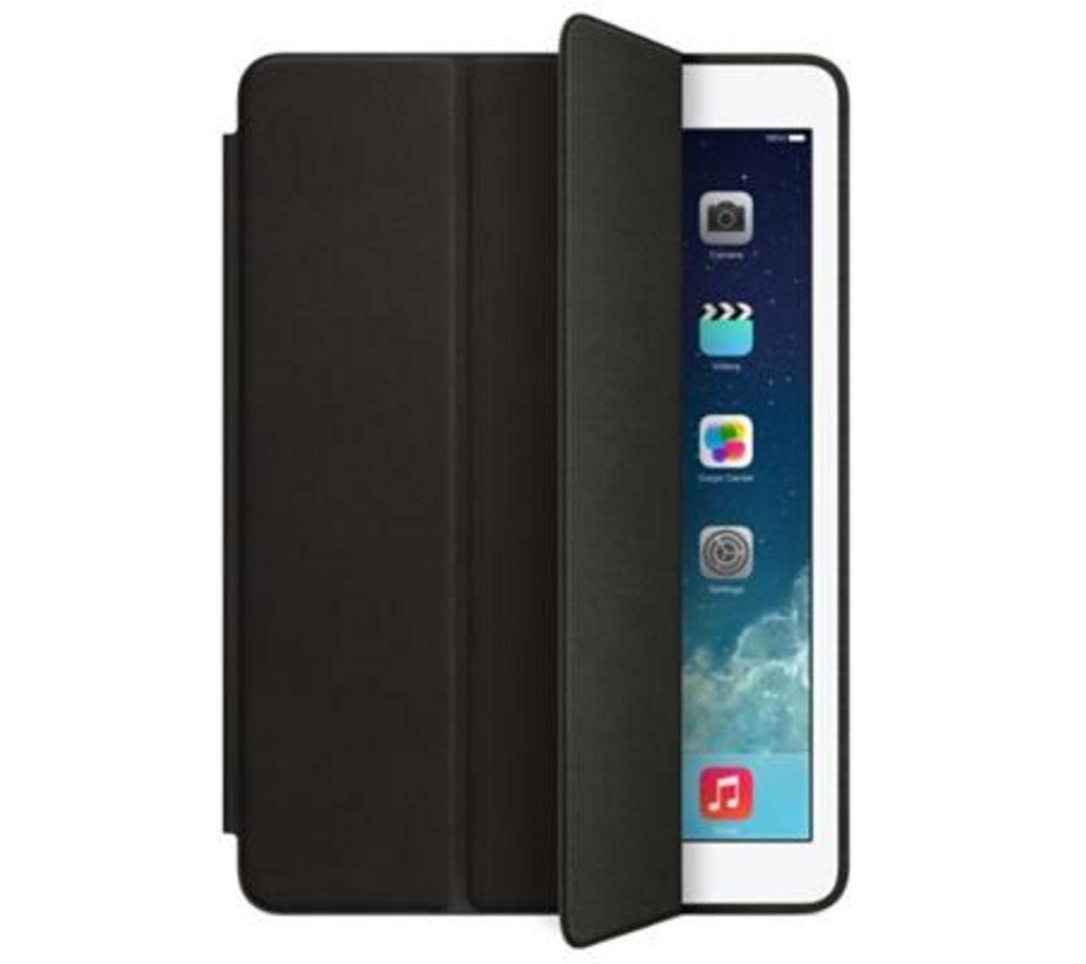 buy apple ipad air leather smart case black free. Black Bedroom Furniture Sets. Home Design Ideas