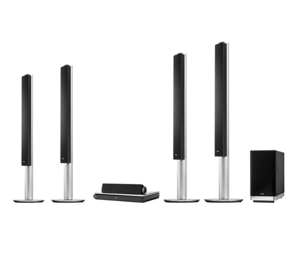 LG BH9540TW 9.1 Smart 3D Blu-ray Wireless Home Cinema System
