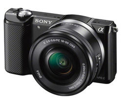 SONY a5000 Compact System Camera with 16-50 mm f/3.5-5.6 OSS Zoom Lens