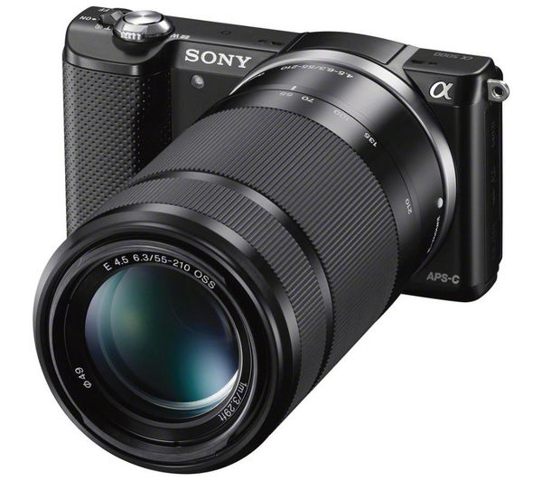 Buy SONY a5000 Mirrorless Camera with 16-50 mm f/3.5-5.6 Lens ...
