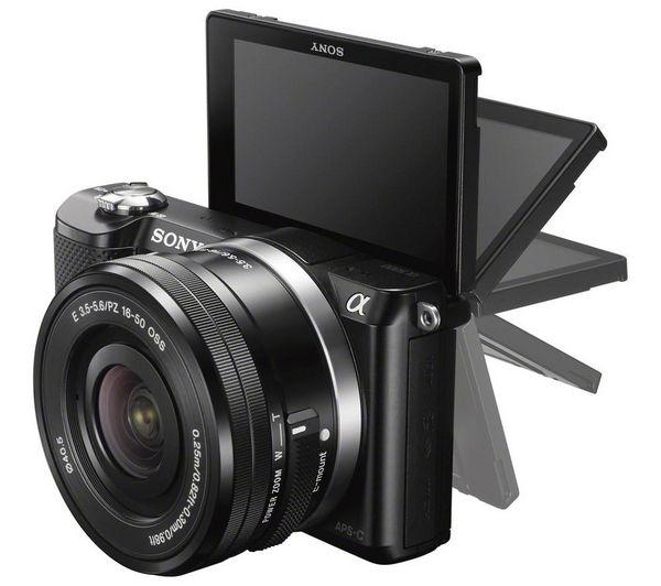 how to use sony a5000 camera