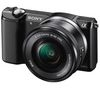 SONY Alpha 5000 Compact System Camera with 16-50 mm f/3.5-5.6 OSS Zoom Lens