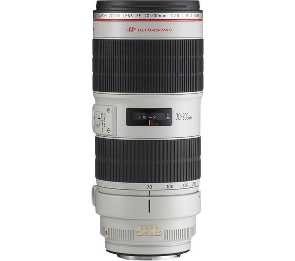 CANON EF 70-200 mm f/2.8L II USM IS Telephoto Zoom Lens + DSLR Cleaning Kit