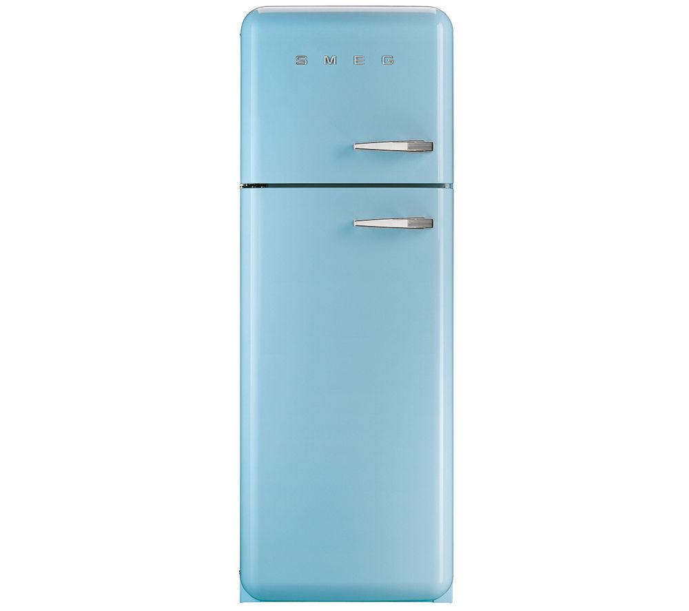 Image of Smeg FAB30LFA Fridge Freezer - Pastel Blue, Blue