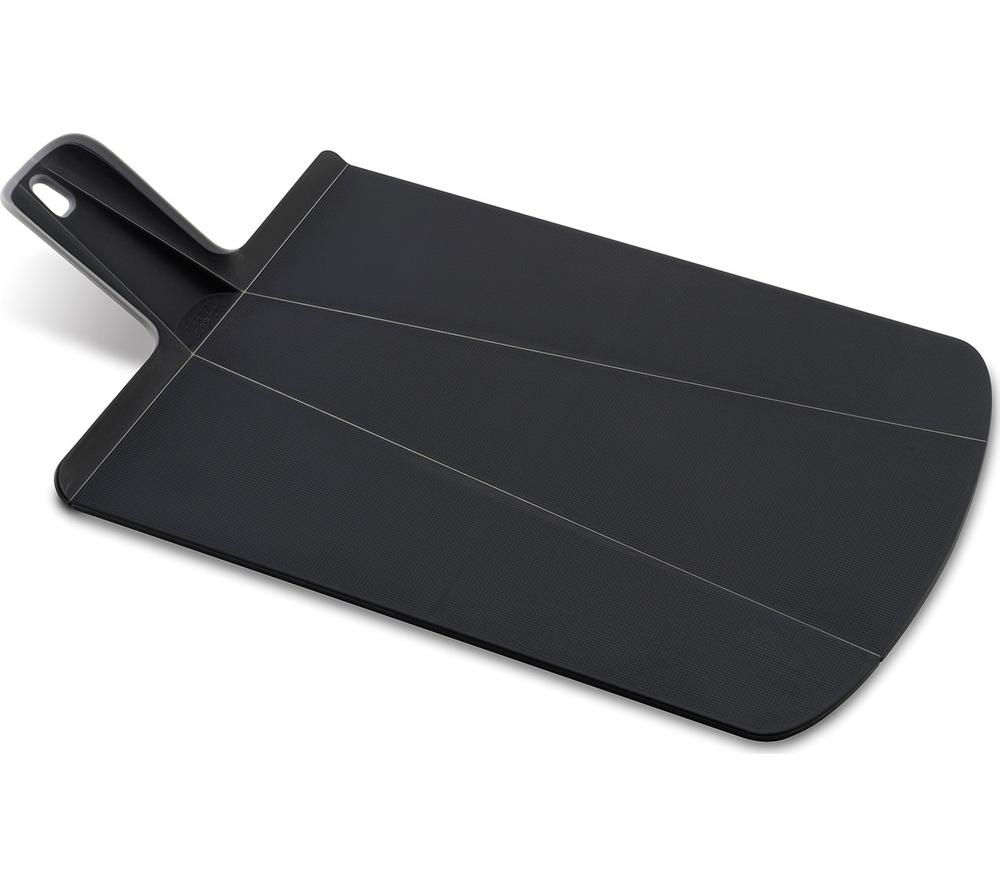 JOSEPH JOSEPH  Chop2Pot Plus Large Chopping Board  Black Black