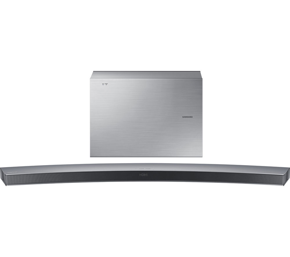 Samsung hw j6001 6 1 wireless curved sound bar for Samsung sound bar