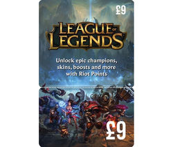 ACTIVISION League of Legend Gift Card - £9
