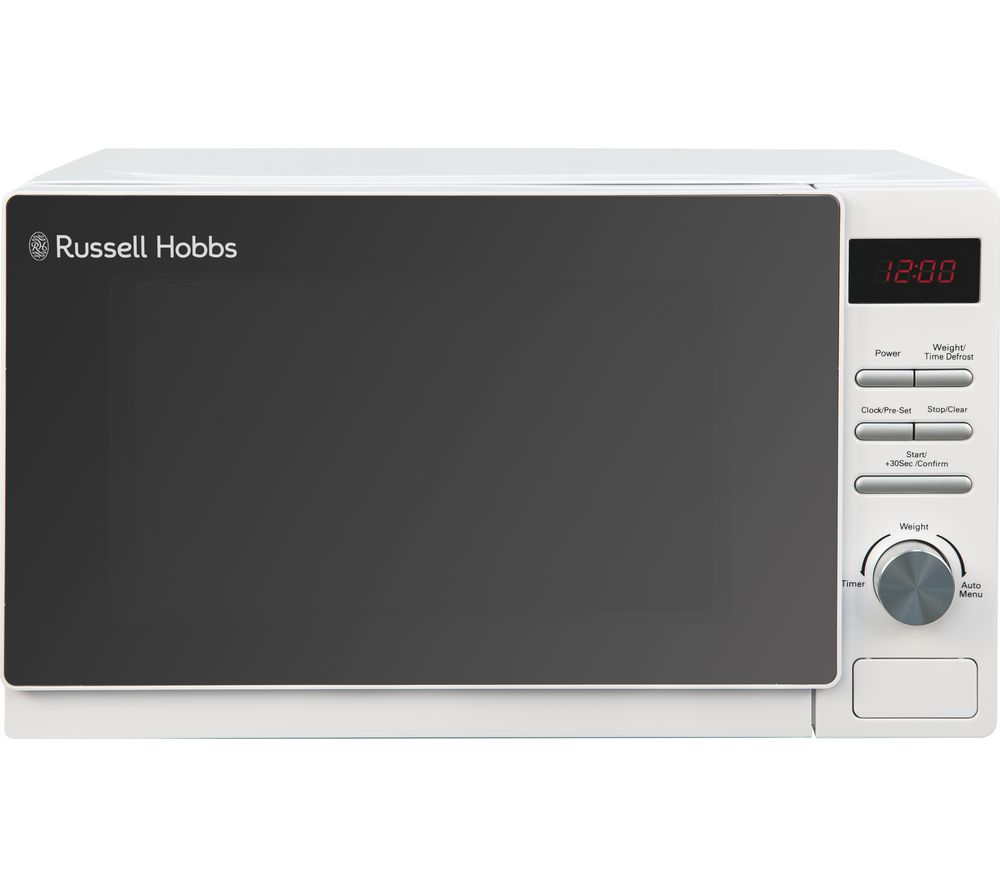 RUSSELL HOBBS  Aura RHM2079A Solo Microwave  White White