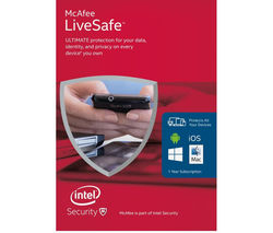 MCAFEE LiveSafe Unlimited