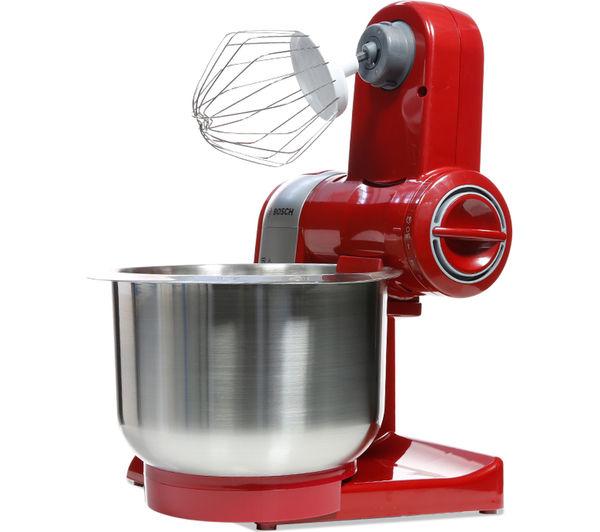 Buy Bosch Mum48r1gb Kitchen Machine Red At950a Multi Food Mincer Chef Attachment Free