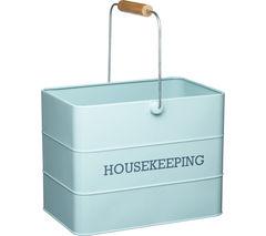 KITCHEN CRAFT Living Nostalgia Vintage Housekeeping Tin - Blue
