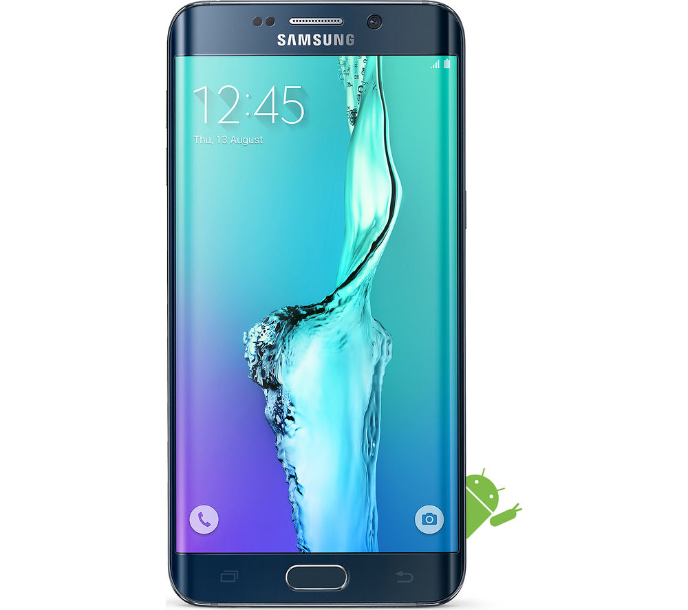 SAMSUNG Galaxy S6 edge+ - 32 GB, Black