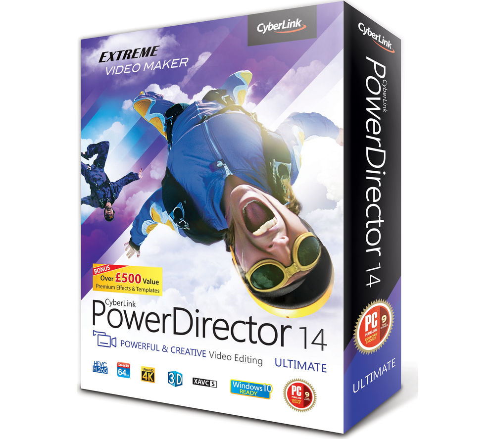 CYBERLINK  Power Director 14 Ultimate.