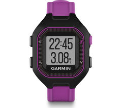 GARMIN Forerunner 25 GPS Running Watch - Small, Purple & Black