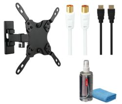 LOGIK LFMSKS16 Full Motion TV Bracket Starter Kit