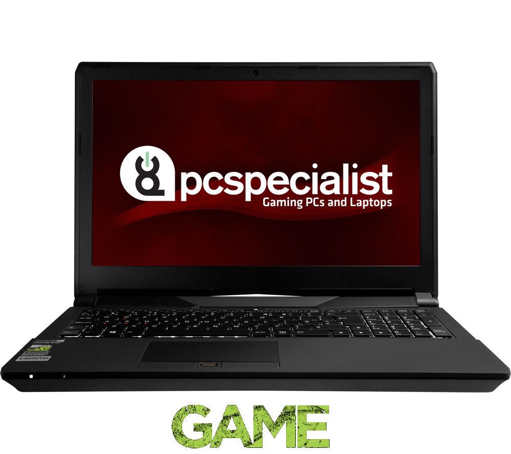 """Image of Pc Specialist Optimus VII 15.6"""" Gaming Laptop - Black"""