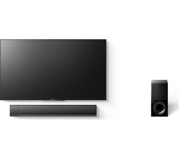 Meuble tv barre de son integree meuble tv station ipod - Meuble tv avec barre de son integree ...