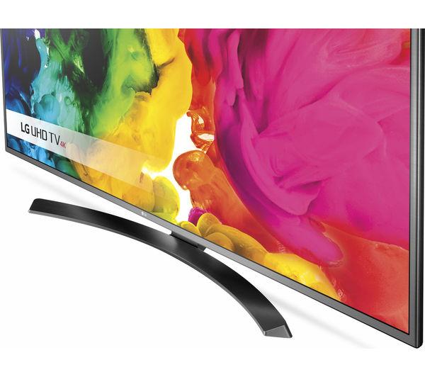 buy lg 49uh668v smart 4k ultra hd hdr 49 led tv free. Black Bedroom Furniture Sets. Home Design Ideas
